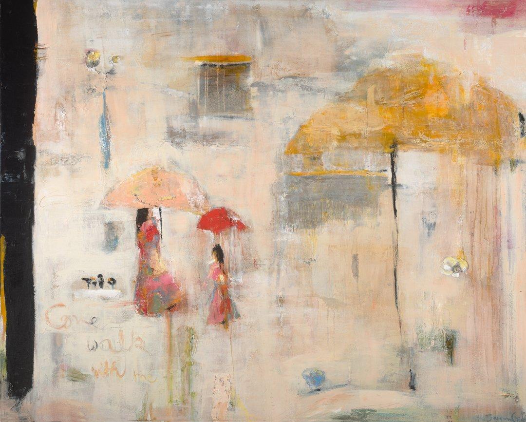 Sargam Griffin, Come Walk With Me  Art Work by Sargam Griffin