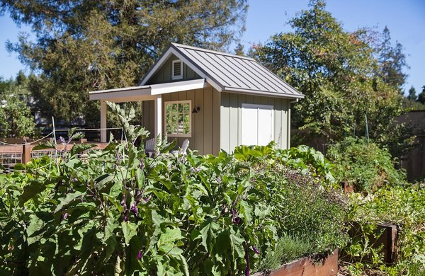 A production garden and chicken coop by Arterra Landscape Architects Photo 3 of Talk of the Neighborhood modern home