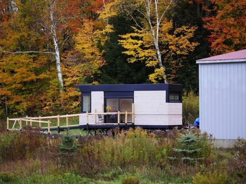 LineSync Architecture designed this remote Vermont home for families requiring wheelchair accessibility.