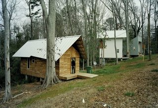 10 Tiny Homes in Rural America - Photo 10 of 10 - At only 396 square feet, the Pattern Book House is one of the smallest homes designed by Rural Studio.