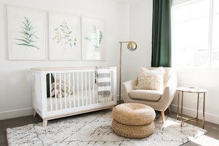 15 Modern and Creative Spaces For Kids - Photo 8 of 15 - The Ironhorse Residence's nursery by Akin Design Studio features clean, earthy tones and multiple textures—all of which help tie in the hushed palette from the rest of the home.