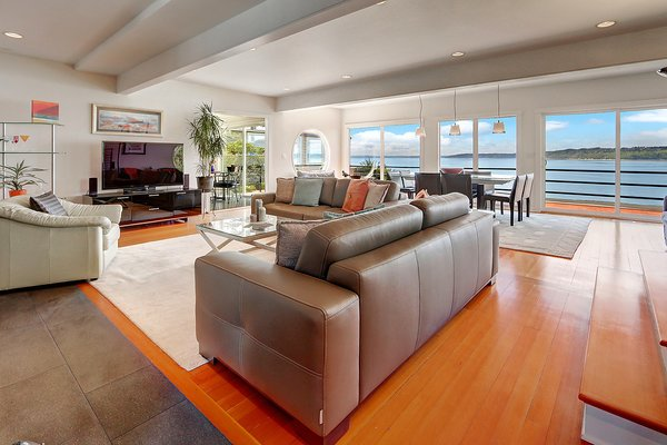 Photo 2 of Puget Sound Waterfront modern home