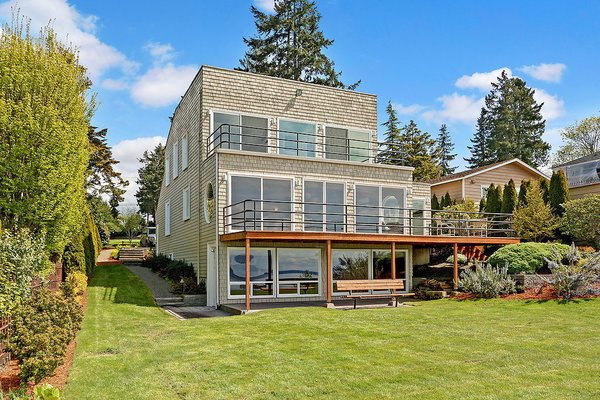 Photo 4 of Puget Sound Waterfront modern home
