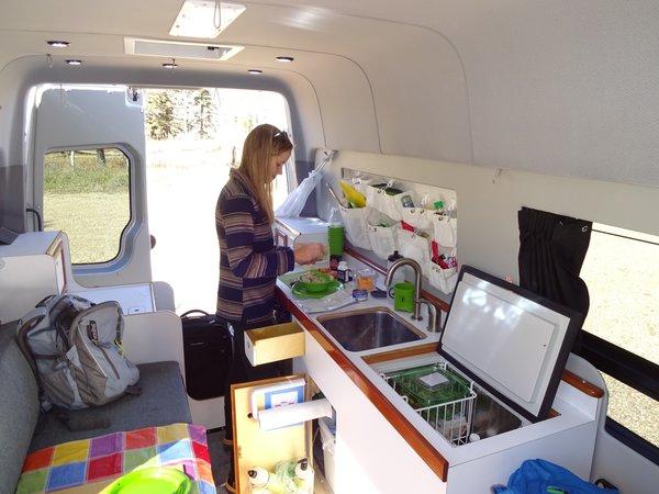 Photo 5 of The Farr Family Sprinter Van modern home