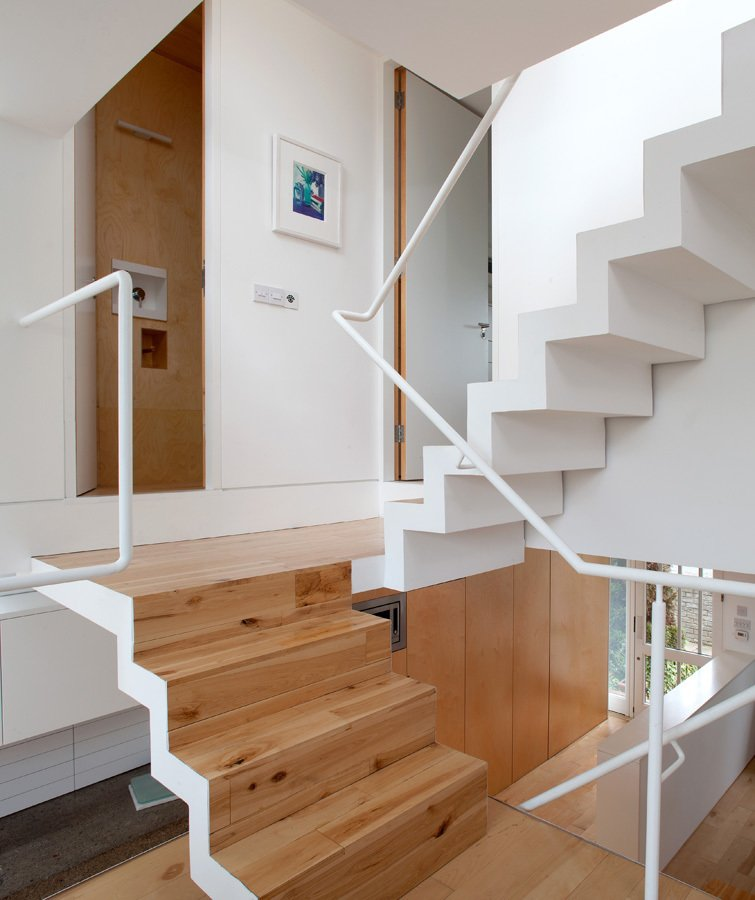 Vertical House by Urban-Agency Architects