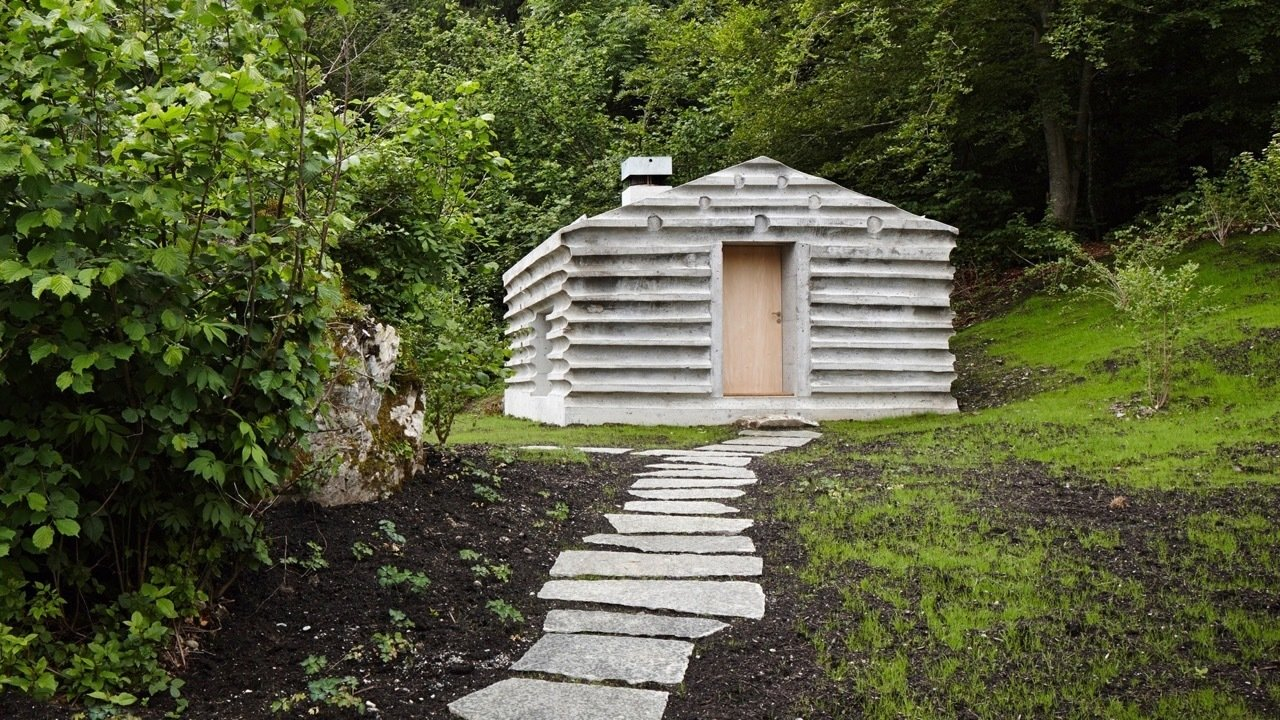 Refuge in Concrete | Switzerland Refuge Lieptgas is the negative imprint of its ancient predecessor. By architect Selina Walder.  Cabin Love by Sandra Henderson
