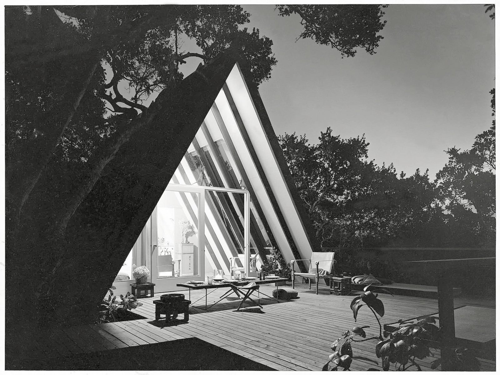John Campbell's Leisure House, Mill Valley , California, 1953 / Photo Courtesy of Princeton Architectural Press  Spawned by postwar affluence, A-frame cabins became the quintessential American vacation home of the 1950s and 60s. A look at what made these icons of middle-class leisure immensely popular then, and what it is like to remodel and live in one today.