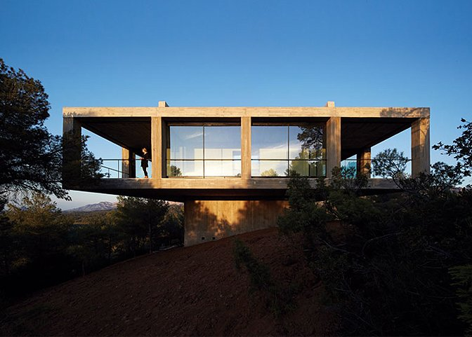 Photo 2 of 11 in 10 of the Best Architectural Homes You Can Actually Stay In