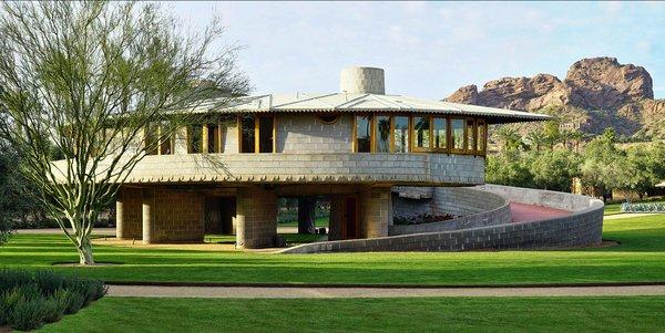 Photo  of David Wright House modern home