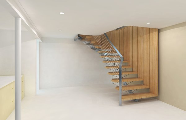 -3d Rendering of schematic;  Workus Studio, LLC Photo 4 of Cascade modern home