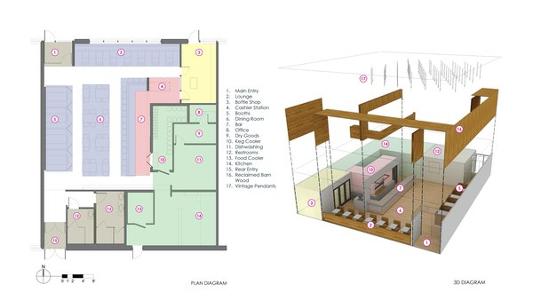 Floor plan & exploded 3D. Photo 4 of Consume modern home