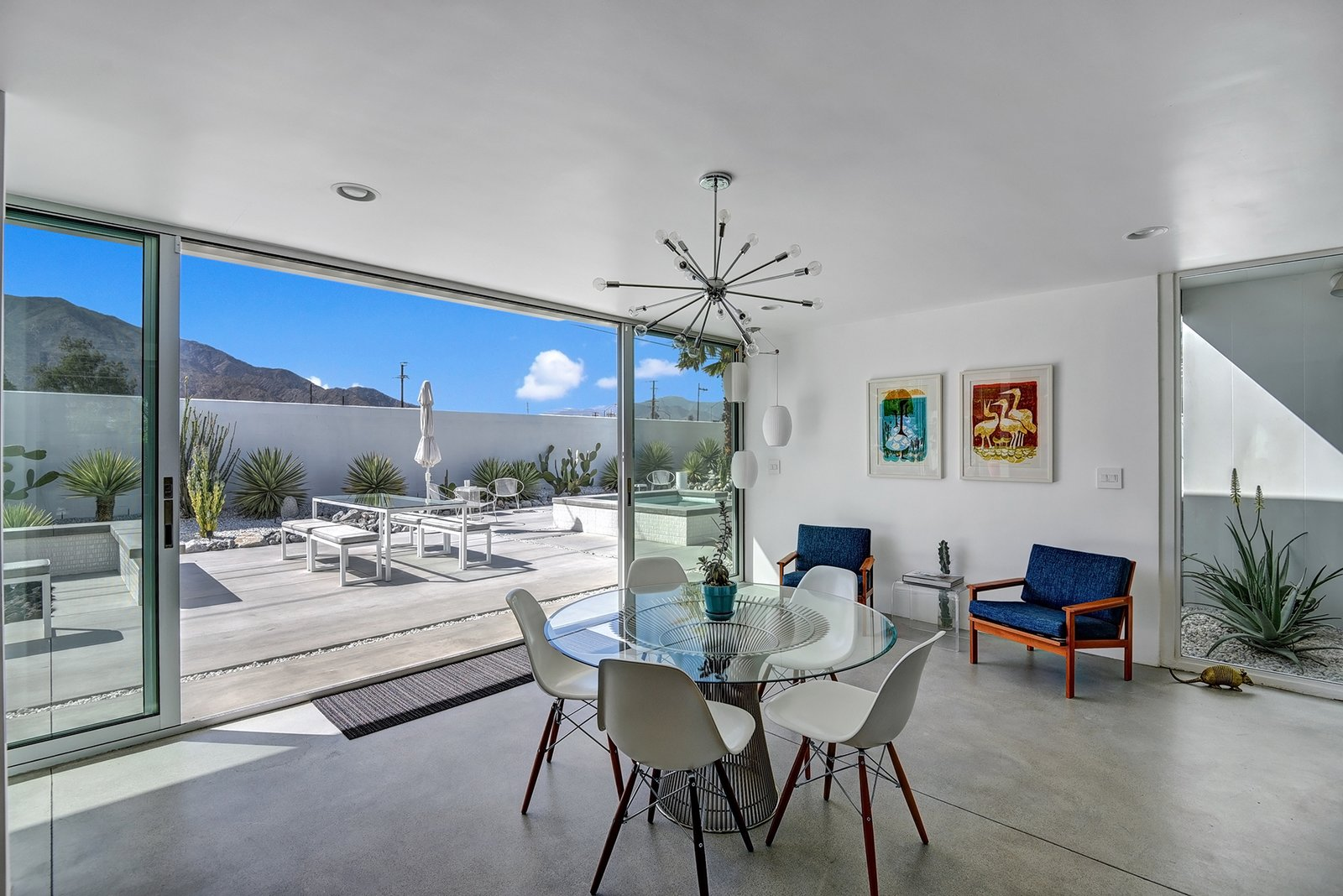 The 2014 remodel increased light into the home by opening the floor plan.