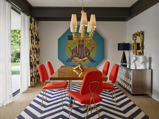 """Jonathan Adler Reveals His Redesign of the Parker Palm Springs - Photo 5 of 6 - """"The vibe is cheeky hedonistic luxury,"""" Adler explains to describe the Parker Palm Springs."""