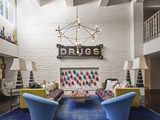 Jonathan Adler Reveals His Redesign of the Parker Palm Springs - Photo 3 of 6 - The art and decor of the hotel is Instagrammable from every corner.
