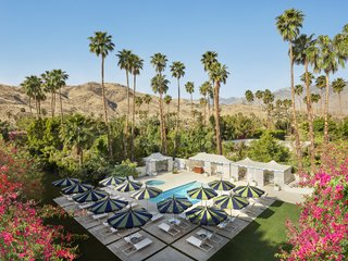 """Jonathan Adler Reveals His Redesign of the Parker Palm Springs - Photo 4 of 6 - """"Palm Springs is singular, and I wanted to create a hotel that captures its essence—groovy modern architecture meets Hollywood glamour—and crank it up a notch,"""" Jonathan Adler says of his design at the Parker."""