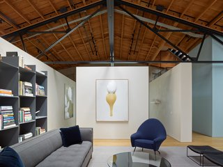 A Knitting Mill in San Francisco Becomes an Unbelievable Loft For Two Art Collectors - Photo 3 of 13 -