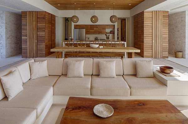 Photographer: Taggart Sorenson Photo 7 of Casa Xixim modern home
