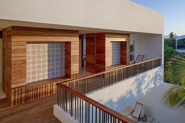 Photographer: Taggart Sorenson Photo 4 of Casa Xixim modern home