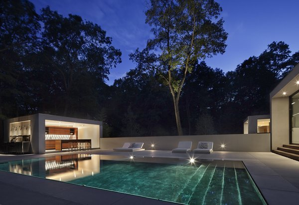 Photographer: Elizabeth Felicella Photo 10 of New Canaan Residence modern home