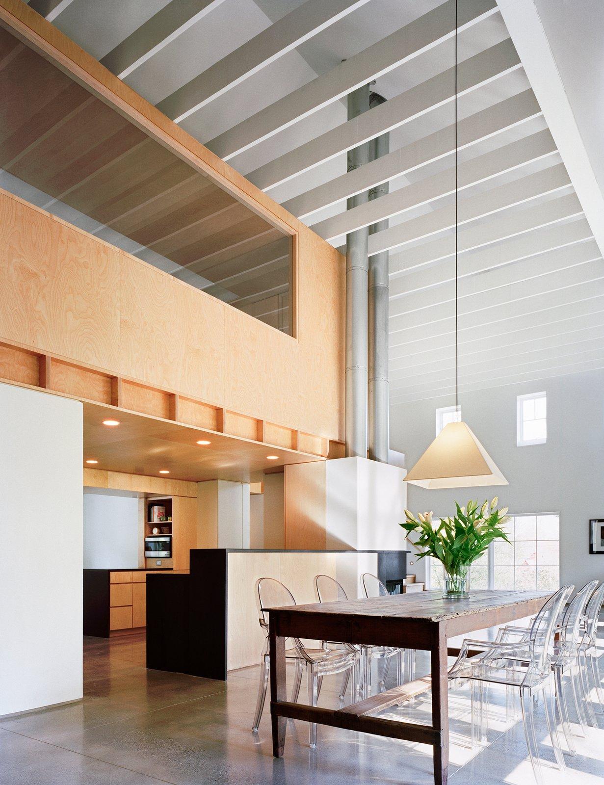 Photographer: Michael Moran Modern Barn by Specht Architects