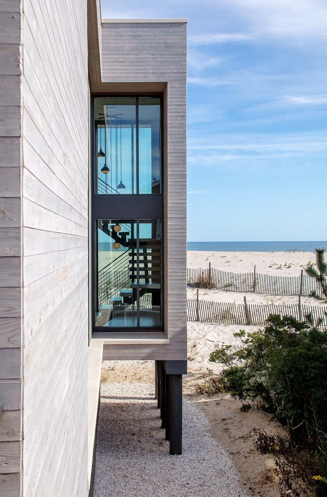 Beach Haven Residence, Partial Exterior.