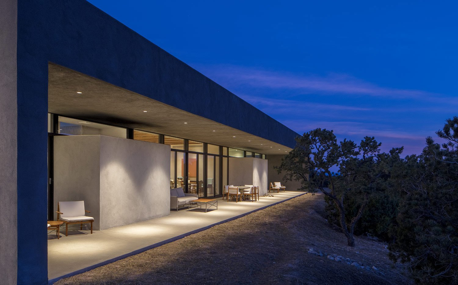 Sundial House, Backyard Exterior.  Sundial House by Specht Architects