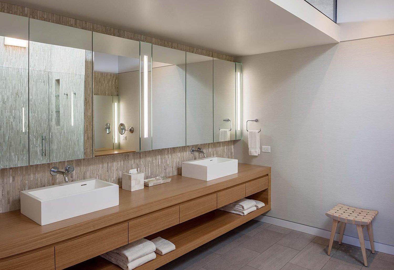 Sundial House, Bathroom.  Sundial House by Specht Architects