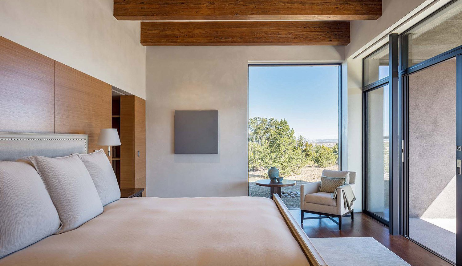 Sundial House, Bedroom.  Sundial House by Specht Architects