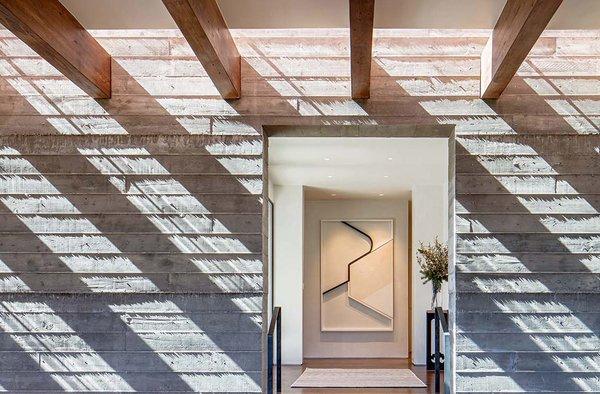 Sundial House, Hallway.  Photo 4 of Sundial House modern home
