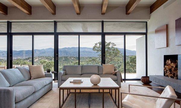 Sundial House, Living Room.  Photo 11 of Sundial House modern home