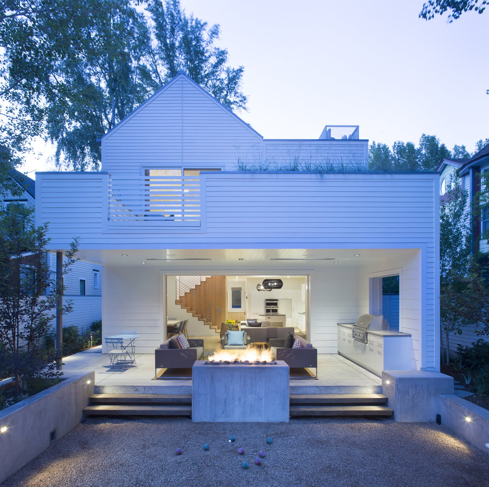 Tagged: Exterior, House, and Wood Siding Material.  Game On by rowland + broughton