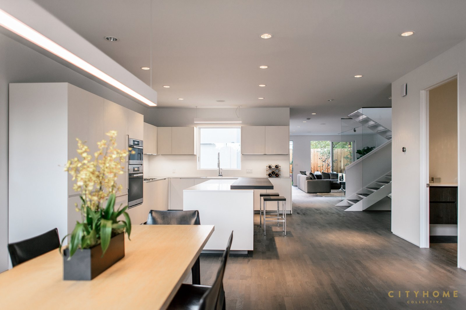 dining kitchen and beyond  Sugarhouse Studio by Brent  Jespersen