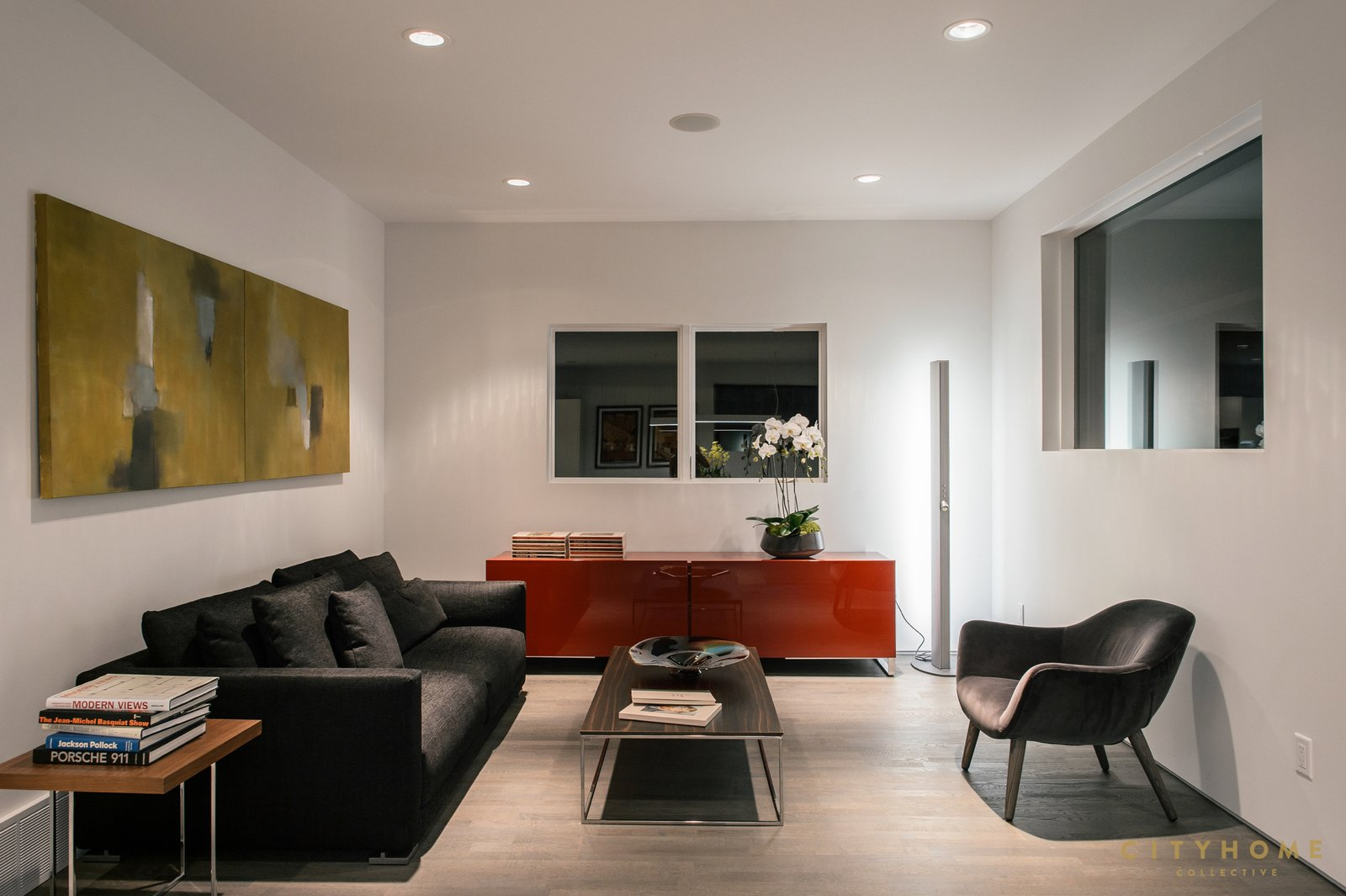 sitting area  Sugarhouse Studio by Brent  Jespersen
