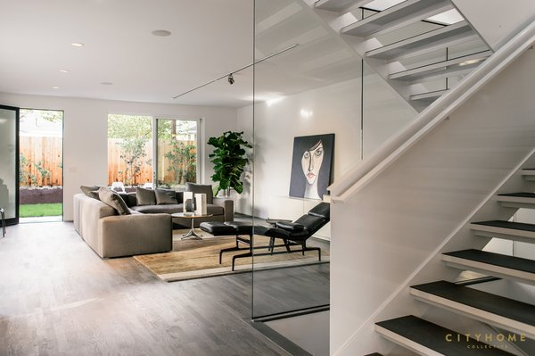 lounge area / media room Photo 11 of Sugarhouse Studio modern home