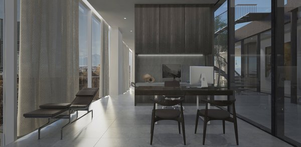 Office  Photo  of Union Center Penthouse modern home