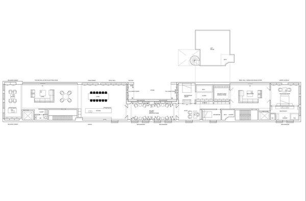 Floor Plan  Photo 9 of Mercer Street Loft modern home