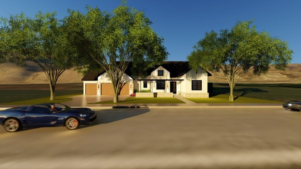 Photo 2 of Modern Farmhouse by WR Gann Co. in the Estates at Harris Ranch modern home