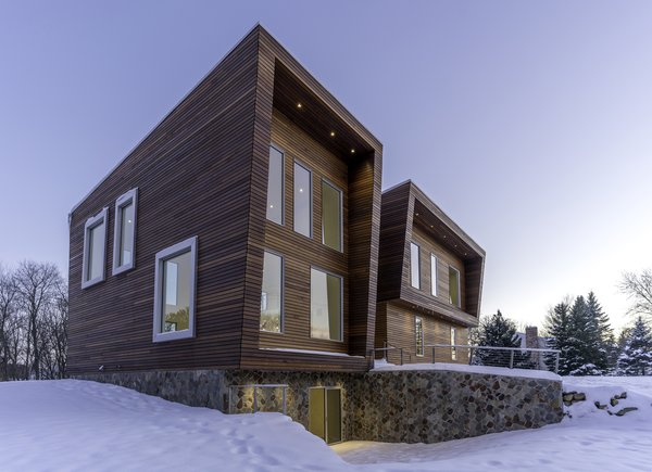 EXTERIOR Photo  of ECOHAUS ONE modern home