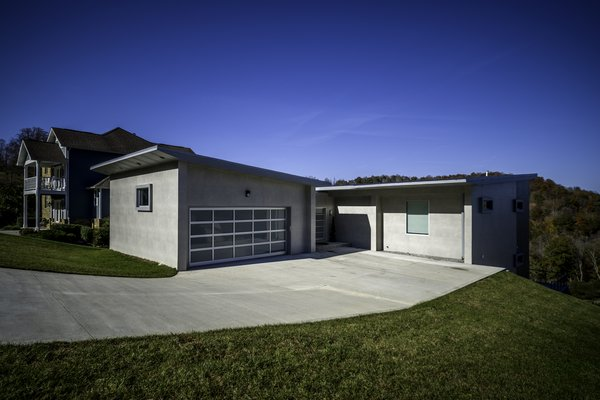 EXTERIOR ENTRY Photo 3 of HANES RESIDENCE modern home