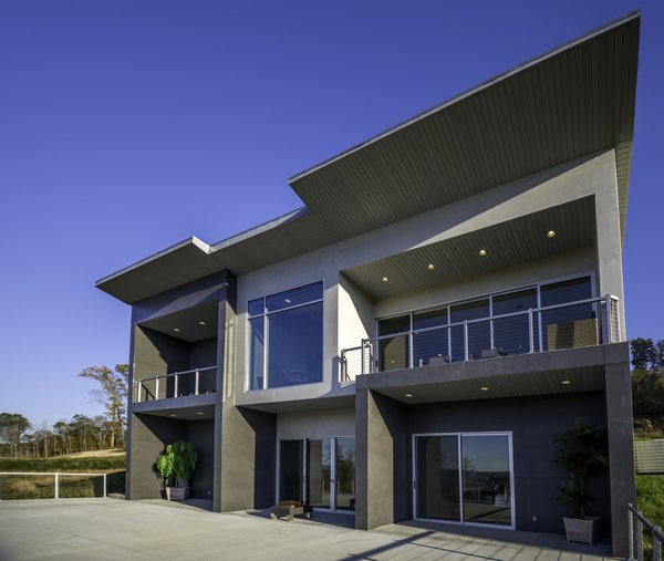 EXTERIOR Photo  of HANES RESIDENCE modern home