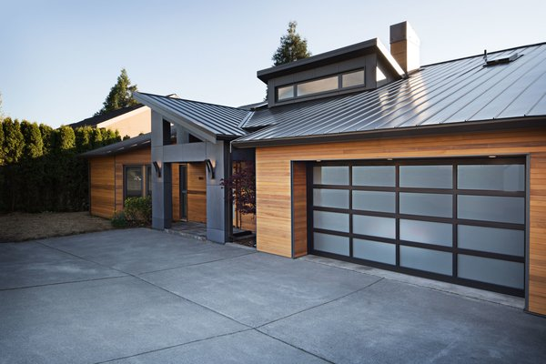Front entry. Photo 6 of The Lakehouse modern home