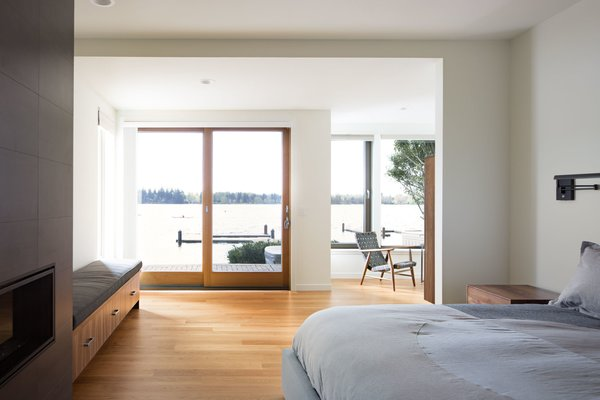 Master bedroom. Photo 7 of The Lakehouse modern home
