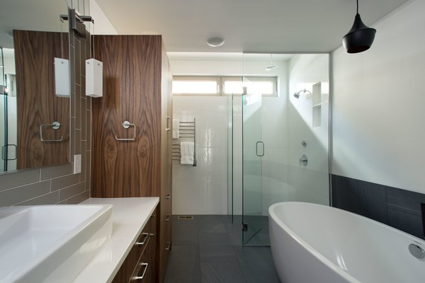 Master bathroom. Photo 9 of The Lakehouse modern home