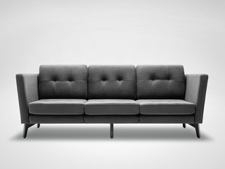 A Look at the Burrow Sofa - Photo 1 of 2 - A prototype of the Burrow sofa.