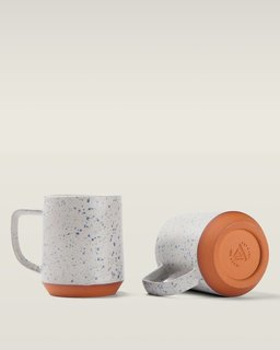 Portland's Mazama Mugs - Photo 2 of 5 - The Cloud Camp speckled ceramic mug.