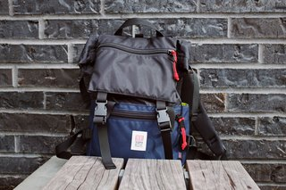 Some Urban-Friendly Gear from Topo Designs - Photo 2 of 3 - The Rover Pack is an essential and iconic member of Topo's product line. Durable, padded straps, not too big, not too small. The Rover excels at just about any urban expedition.