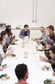Figma's SF Office Celebrates the Humanity of Work - Photo 6 of 7 - A long lunch table means bringing people together.