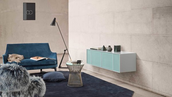 Denmark's Montana Takes a Modern Approach to Household Storage - Photo 1 of 5 - This wall shelf is an efficient storage solution in a living room or large open space.
