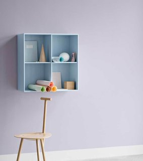 Denmark's Montana Takes a Modern Approach to Household Storage - Photo 5 of 5 - This small wall unit is a way to create impromptu storage at arm's reach.