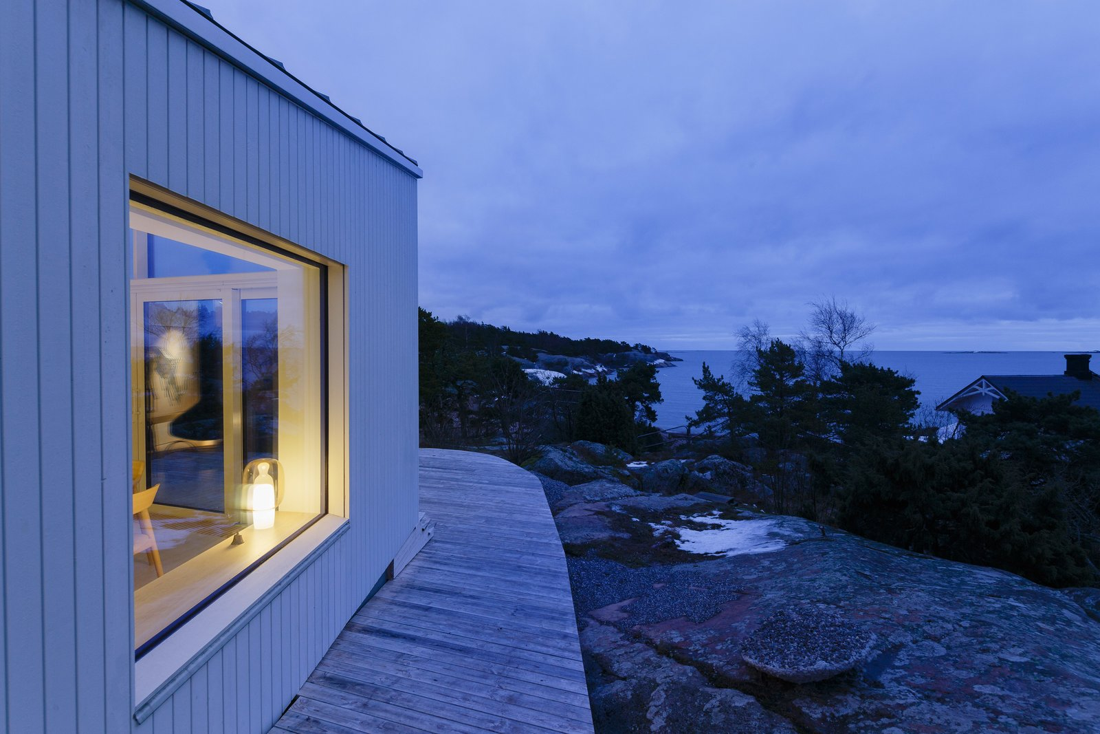 Tagged: Outdoor.  Photo 3 of 12 in A Modern Finnish Villa That Grows Out of a Seaside Cliff